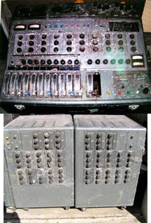 Decca and racks before restoration