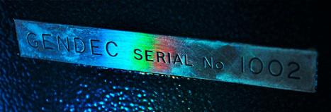 Decca serial number